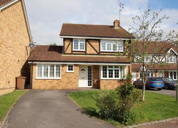 Thumbnail 4 bedroom detached house for sale in Cherry Tree Grove, Wokingham