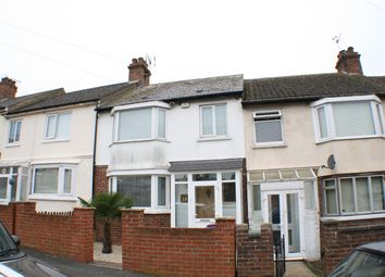 Thumbnail 3 bedroom terraced house for sale in Dawson Road, Folkestone, Kent