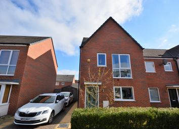 Thumbnail 3 bed semi-detached house for sale in Centurion Crescent, Newcastle, Newcastle