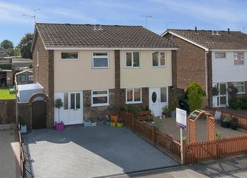 Thumbnail 3 bed semi-detached house for sale in Cornwall Road, Greenhill, Herne Bay, Kent