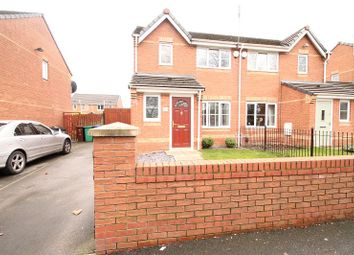 Thumbnail 3 bed semi-detached house for sale in Greenbrow Road, Manchester