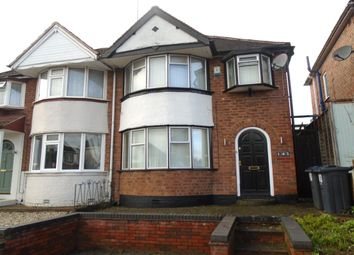 Thumbnail 3 bed semi-detached house for sale in Aldershaw Road, Yardley, Birmingham