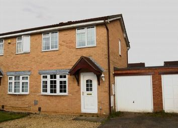 Thumbnail 2 bed semi-detached house for sale in Wilford Avenue, Wakes Meadow, Northampton