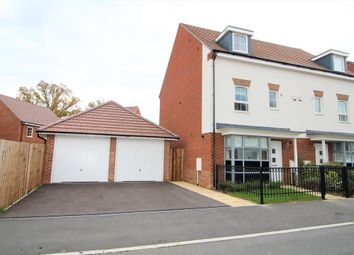 Thumbnail 4 bed town house to rent in Montague Park, Wokingham