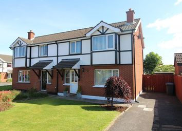 Thumbnail 3 bed semi-detached house for sale in Kingsmere Avenue, Groomsport, Bangor