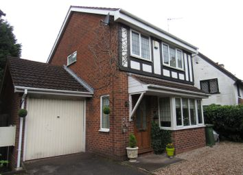 Thumbnail 3 bed detached house for sale in Tanwood Close, Hillfield, Solihull