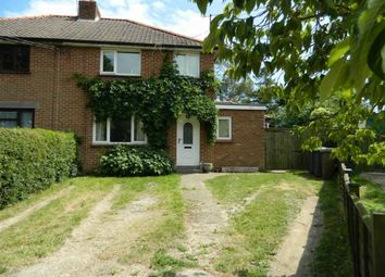 Thumbnail 4 bed semi-detached house for sale in Burwash, Witnesham, Suffolk