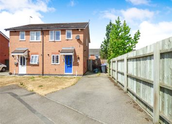 Thumbnail 2 bed semi-detached house to rent in Muncaster Close, Broughton Astley, Leicester, Leicestershire