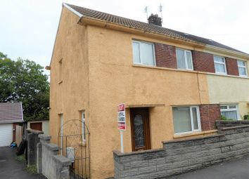 Thumbnail 2 bed semi-detached house for sale in Heol-Y-Foelas, Bridgend, Bridgend.