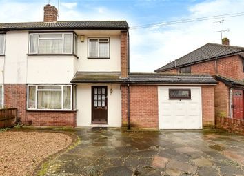 Thumbnail 4 bed semi-detached house for sale in Ferndale Crescent, Uxbridge, Middlesex