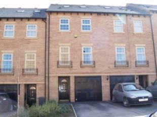 Thumbnail 4 bed town house for sale in Barberry Court, Barnsley
