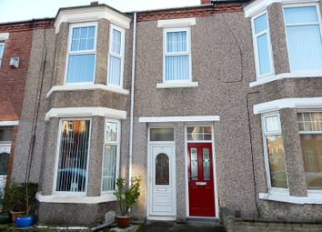 Thumbnail 3 bed flat to rent in Coleridge Avenue, South Shields
