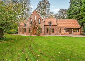 Thumbnail 3 bed detached house for sale in Church Lane, Marshchapel, Grimsby