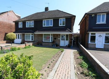 Thumbnail 3 bedroom semi-detached house for sale in Pegsdon Close, Luton, Bedfordshire
