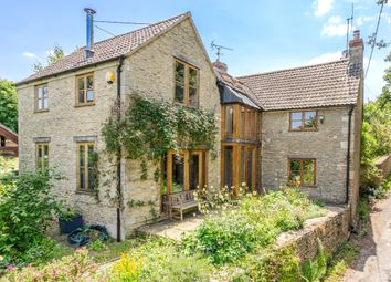 Thumbnail 4 bed detached house for sale in Burton, Chippenham