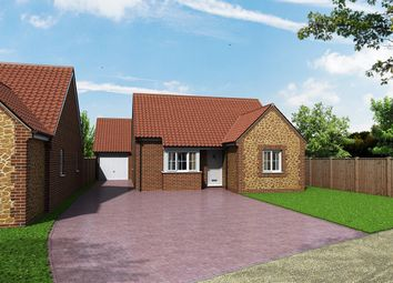 Thumbnail 2 bedroom detached bungalow for sale in Church Lane, Heacham, King's Lynn