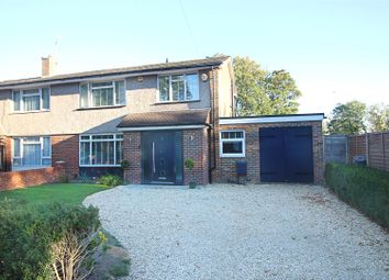 Thumbnail 3 bed semi-detached house for sale in Dovedale Close, Caversham, Reading