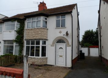 Thumbnail 3 bed semi-detached house to rent in Manor Road, Fleetwood