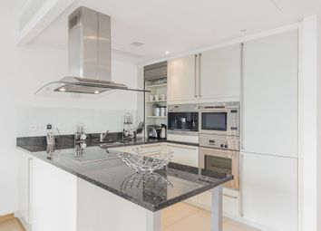 Thumbnail 1 bed flat to rent in Hertsmere Road, London