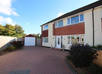 Thumbnail 5 bed semi-detached house for sale in Exe Vale Road, Countess Wear, Exeter