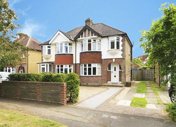 Thumbnail 3 bed semi-detached house for sale in Ember Farm Way, East Molesey