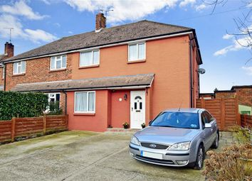 Thumbnail 3 bed semi-detached house for sale in Macleod Road, Horsham, West Sussex