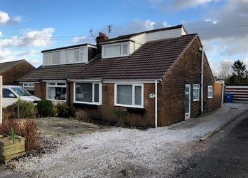 Thumbnail 3 bed semi-detached bungalow for sale in Woodlands Road, Milnrow, Rochdale