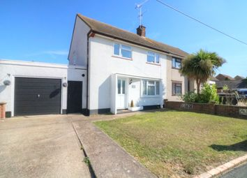 Thumbnail 3 bed semi-detached house for sale in Olivers Crescent, Great Wakering, Southend-On-Sea