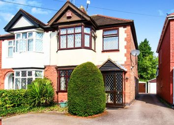Thumbnail 3 bed semi-detached house for sale in Belgrave Road, Coventry
