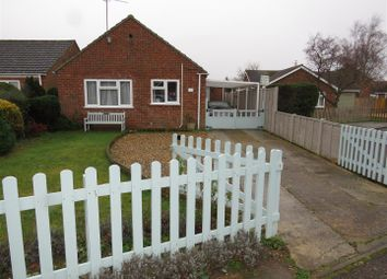 Thumbnail 3 bed detached bungalow for sale in Strachan Close, Heacham, King's Lynn