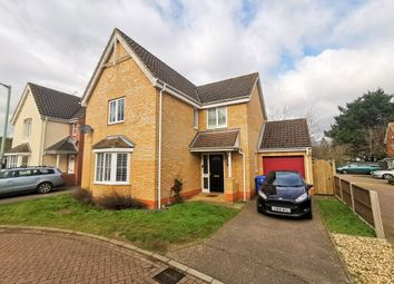 Thumbnail 4 bed detached house for sale in Copplestone Close, Worlingham, Beccles