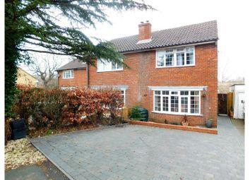 Thumbnail 3 bed semi-detached house for sale in Danum Close, Hailsham