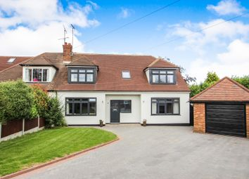 Thumbnail 4 bed semi-detached house for sale in Warren Close, Rayleigh, Essex