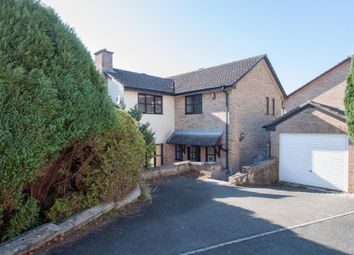Thumbnail 4 bedroom detached house for sale in Warleigh Crescent, Plymouth