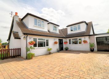 Thumbnail 5 bed detached house for sale in Paddock Close, Hunsdon, Ware