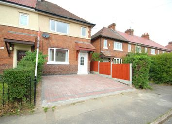 Thumbnail 2 bed semi-detached house to rent in Macaulay Street, Sinfin, Derby