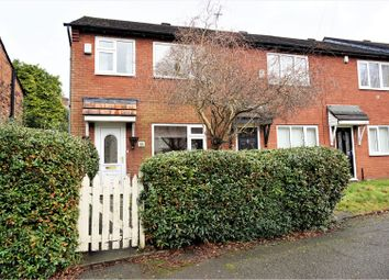 Thumbnail 3 bed end terrace house for sale in Crab Lane, Manchester