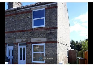 Thumbnail 3 bed end terrace house to rent in Weston Road, Wisbech