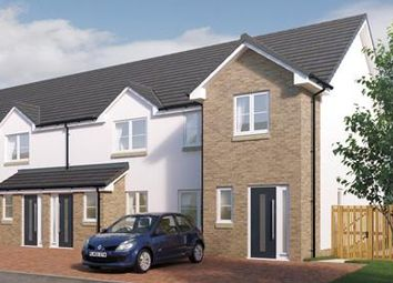 Thumbnail 3 bedroom end terrace house for sale in Borland Walk, Glassford, Strathaven