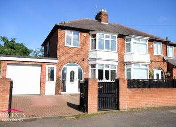 Thumbnail 3 bed semi-detached house for sale in Hillrise Avenue, Braunstone Town, Leicester