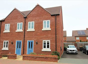 Thumbnail 3 bed semi-detached house for sale in Northwick Close, Great Denham, Bedford