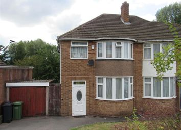 Thumbnail 3 bed semi-detached house for sale in Eden Road, Solihull