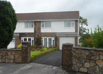 Thumbnail 4 bed semi-detached house for sale in Cefn Byrle Road, Coelbren, Neath