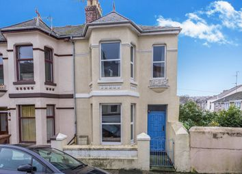 Thumbnail 3 bedroom end terrace house for sale in Penlee Place, Mutley, Plymouth