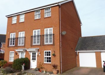 Thumbnail 3 bedroom town house for sale in Orion Avenue, Priddys Hard, Gosport