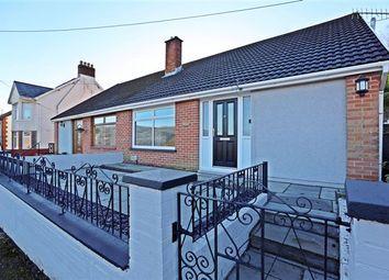 Thumbnail 4 bed semi-detached bungalow for sale in Danylan Road, Maesycoed, Pontypridd