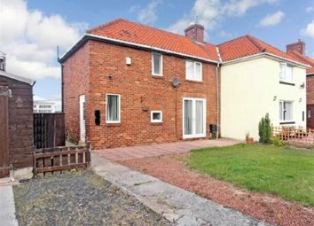 Thumbnail 2 bed semi-detached house for sale in Wordsworth Avenue, Wheatley Hill, Durham