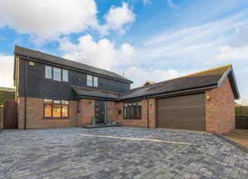 Thumbnail 5 bed detached house for sale in Colesbourne Drive, Downhead Park, Milton Keynes, Buckinghamshire