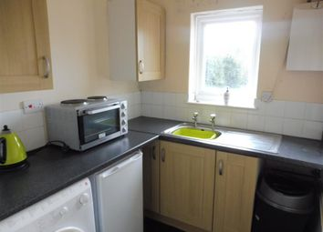 Thumbnail 1 bed flat to rent in Bearwood Hill Road, Burton On Trent, Staffordshire