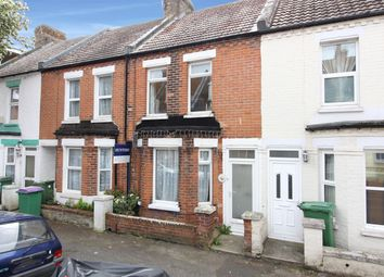 Thumbnail 2 bed terraced house for sale in Ethelbert Road, Folkestone, Kent